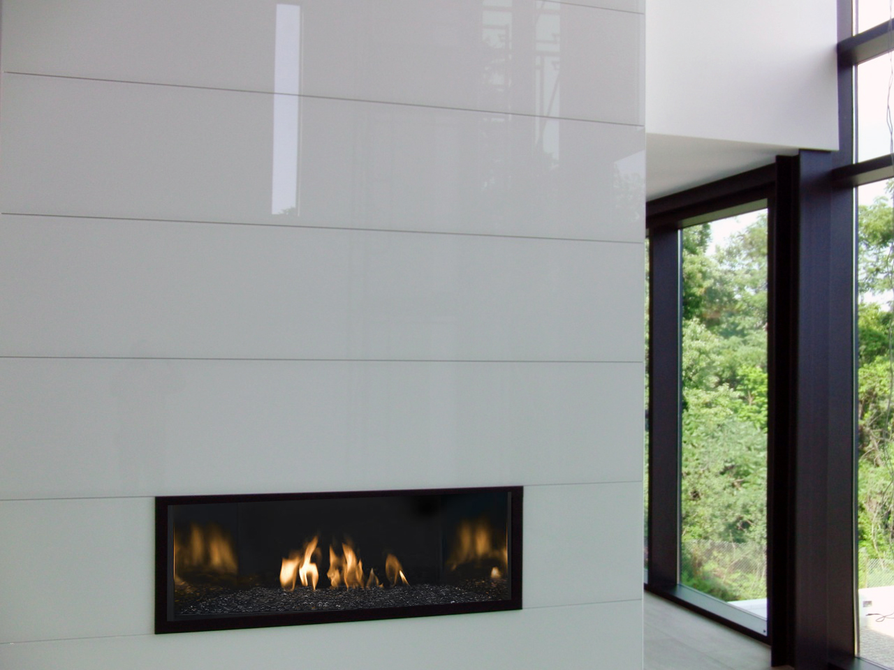 GC Backsplash 2016 01 09 White Fireplace wall panels riverside residence