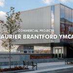 laurier YMCA custom windows exterior view