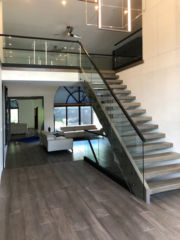 GC Residential Railing Interior 2019 07 15 2 After