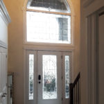 custom residential glass door