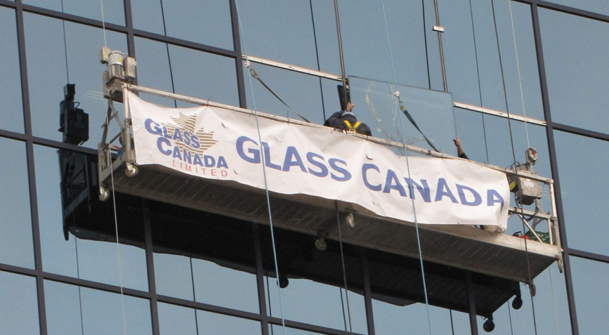 glass canada swing stage
