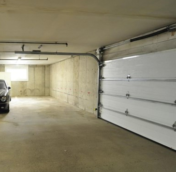 garage door interior view