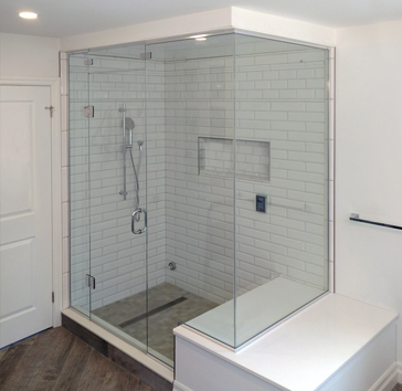 custom galss shower
