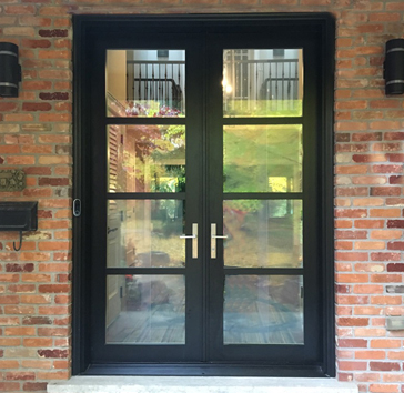 residential custom glass door